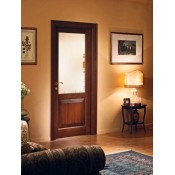 Durys su stiklu B004