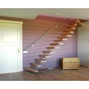 Mediniai laiptai A054