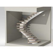 Modernūs sukti laiptai A015