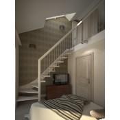 Mediniai laiptai A035